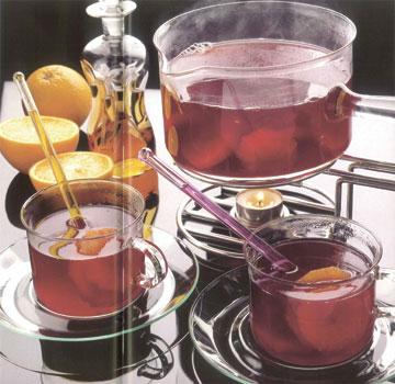 Апельсиновый чайный пунш