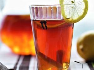 Холодный чай с гвоздикой