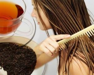 Черный и зеленый чаи помогут оживить и укрепить волосы