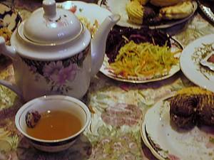 Чай по-киргизски праздничный