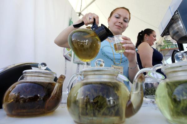 Зеленый чай  снижает риск инсульта на 20 процентов