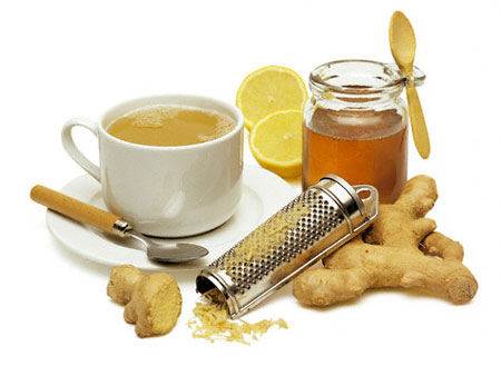 Экспресс-диета на имбирном чае