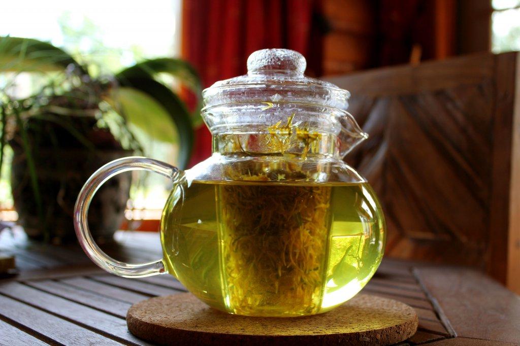 Чай из одуванчиков против боли в суставах