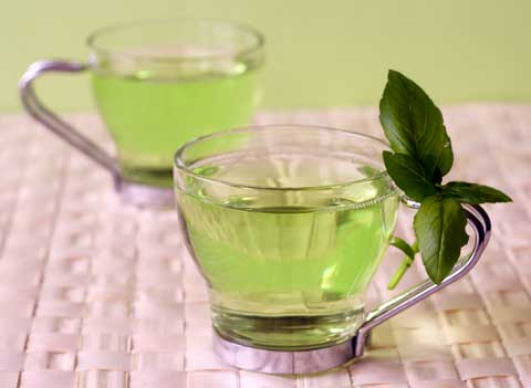 Прыщи и зеленый чай