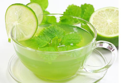 Зеленый чай полезен для кожи