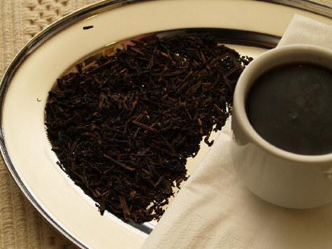 При высоком давлении поможет черный чай