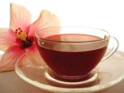 Чай каркаде выводит шлаки из организма