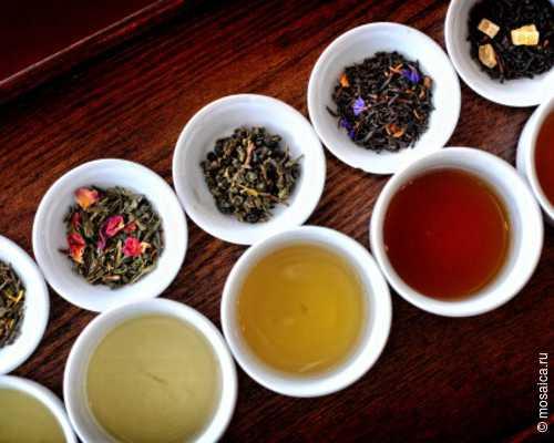 В жару следует пить зелёный чай