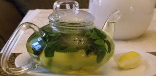Мятный чай как жиросжигающие средство