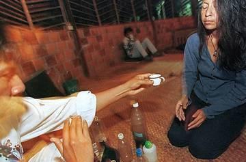 В Перу туристов потчуют галлюциногенным чаем