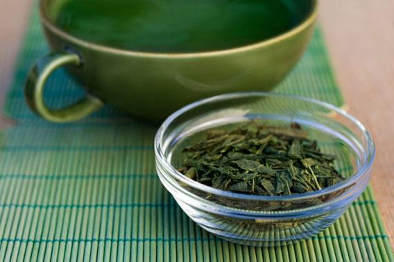 Чай и красивая молодая кожа