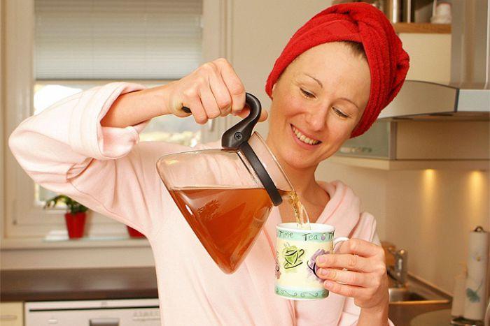 Как быстро похудеть на чае