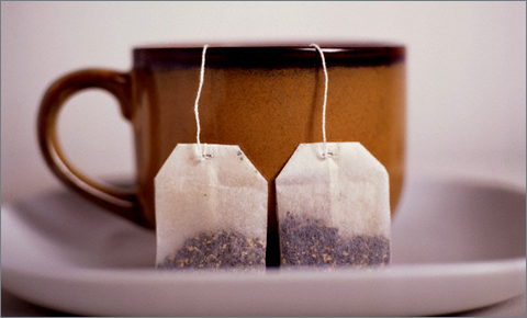 Отравление может быть вызвано чаем в пакетиках