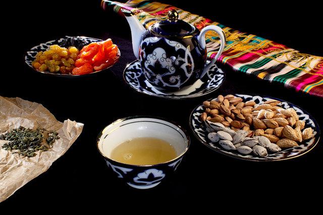 Из чего же делают узбекский горный чай?
