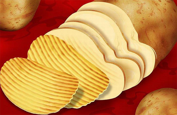Несколько несложных рецептов из картофельных чипсов