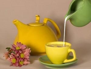 Чай с молоком позволяет сбросить лишние килограммы