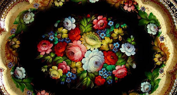 Красота росписи