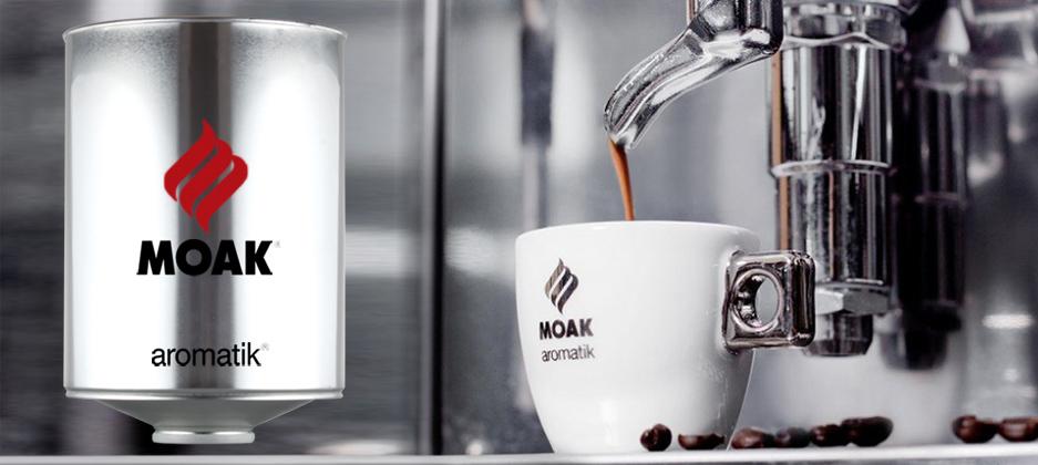 Кофе в зернах оптом: выбирая TM MOAK — выбираешь качество!