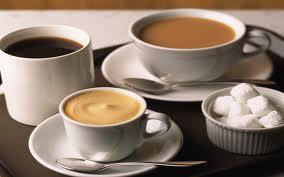 Немного о чае и кофе