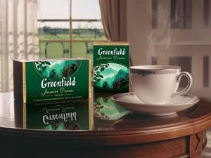 Greenfield – самый любимый чай россиян