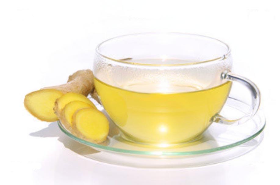 Имбирный чай и яблоки повышают иммунитет