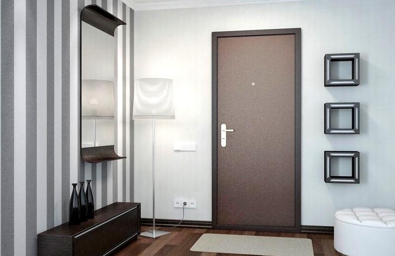 Ну, такая дверь, чтоб и жене понравилось!