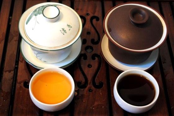 В чём заключается отличие черного чая от зеленого?
