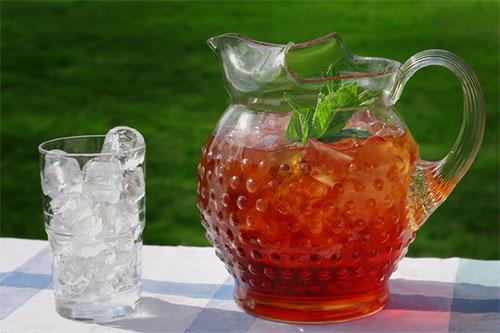 Как вкусно приготовить холодный чай