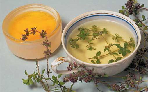 Чай из травы и специй