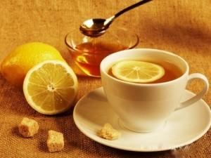 «Огненный» чай из лимона