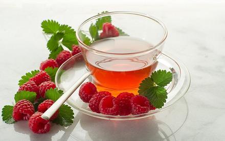 Поможет чай из веток малины