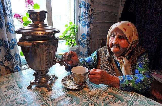 Краткая история чая в России