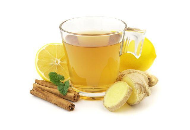 Имбирный чай вылечит простуду