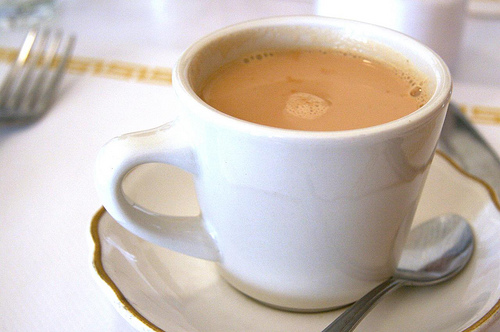 Чай с молоком для похудения: вред