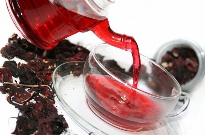 Чай каркаде для похудения: возьмите на заметку