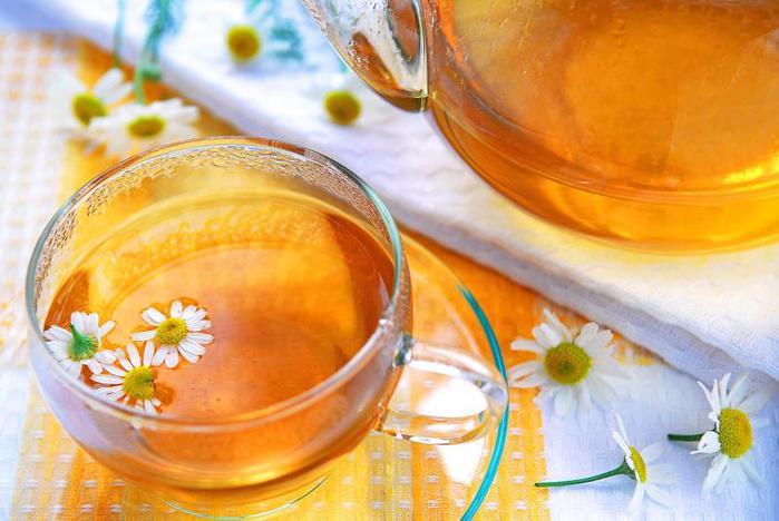 Чай из ромашки содержит апигенин