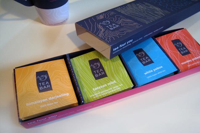 Чай Tea Bar предстал в новой модной упаковке