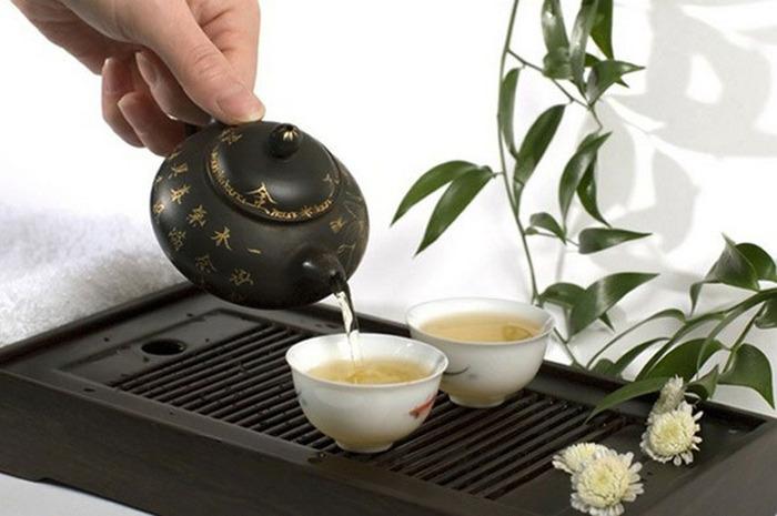 Зеленый чай спасет от радиации