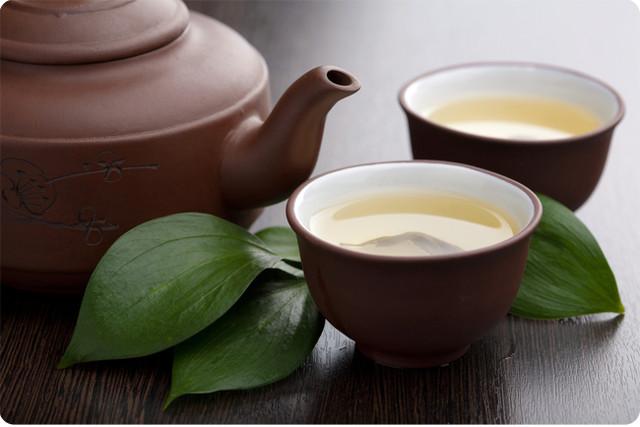 Худеем на зеленом чае