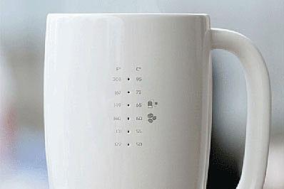 Британский дизайнер создала кружку-термометр