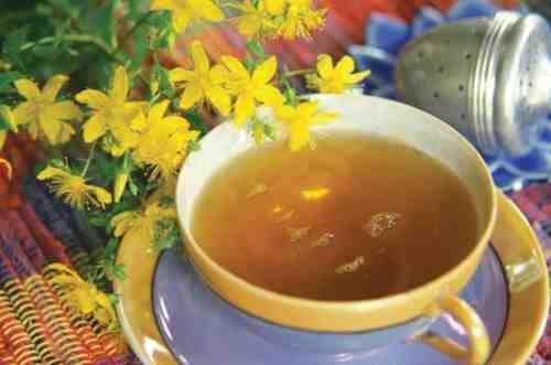 Полезный травяной чай от кашля