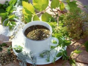 Травяные чаи очень полезны