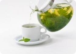 Зеленый чай сохранит ум в трезвости