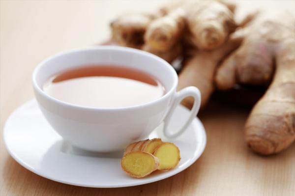 Готовим имбирный чай для похудения