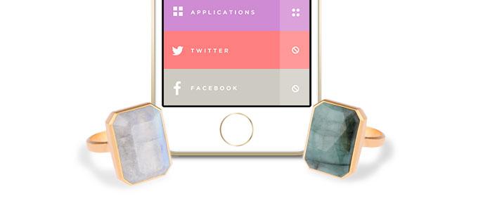 Кольцо Ringly – практичный аксессуар для айфонов