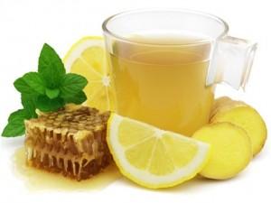 Чаепитие в компании с имбирем