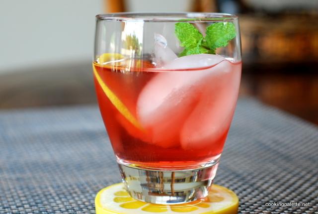 Ледяной чай избавит от жажды
