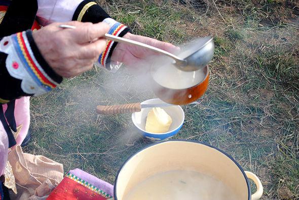 Особенности приготовления традиционного калмыцкого чая