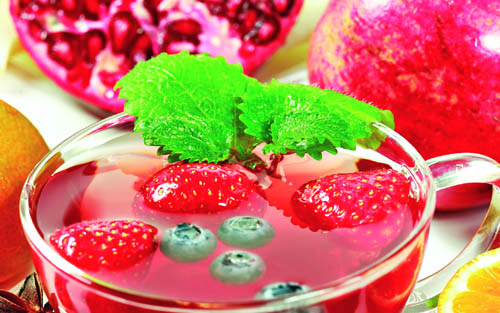 Основные достоинства фруктового чая