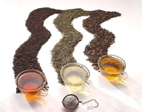 Основные разновидности чая